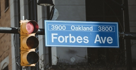 Forbes Avenue Street Sign